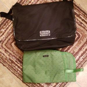 Kate Spade Diaper Bag and Changing Pad